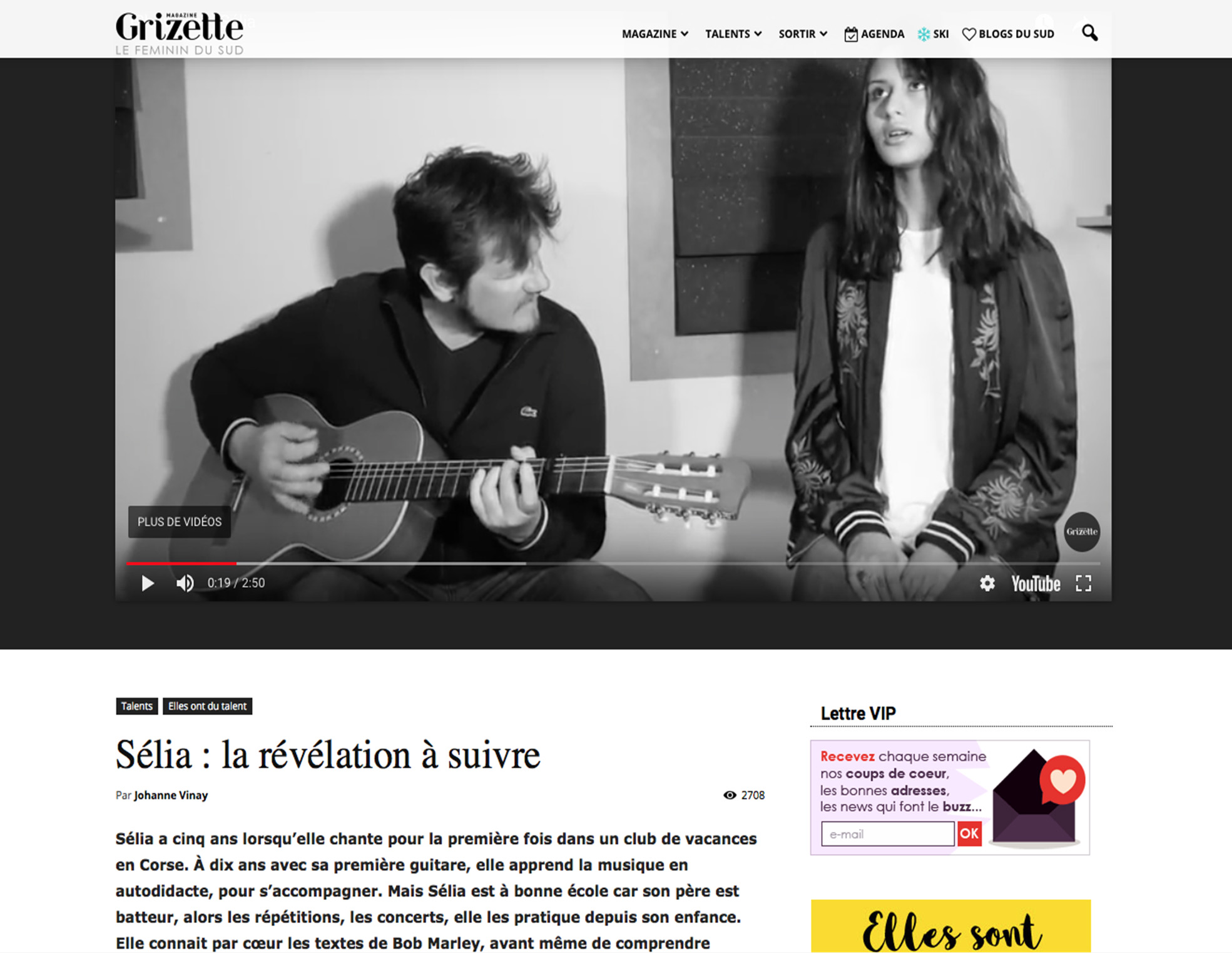 Article La Grizette